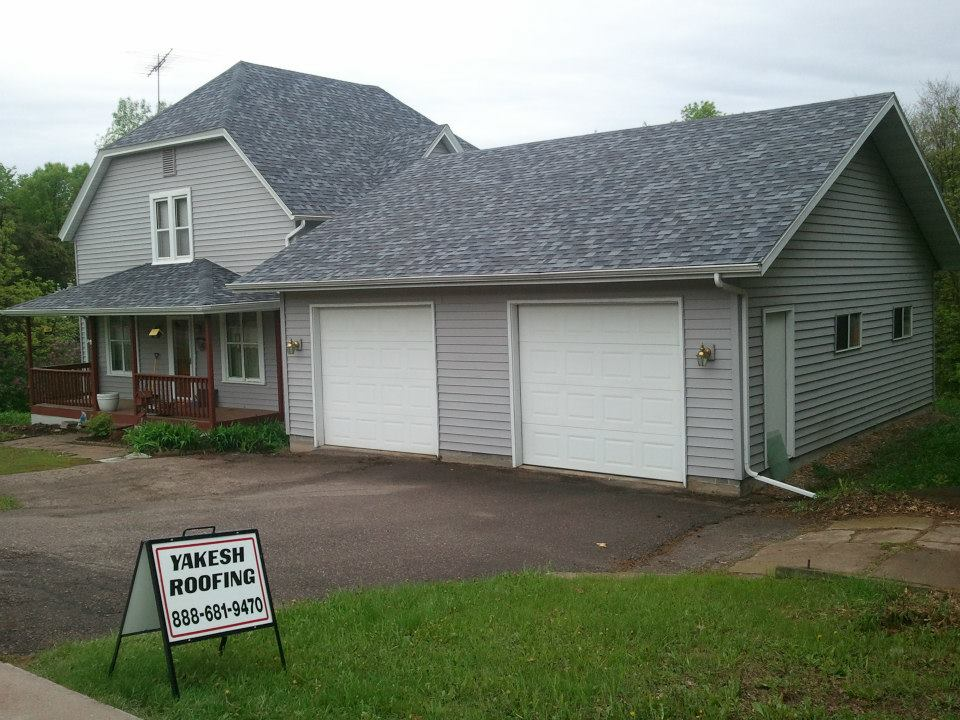 Jobs Completed Yakesh Roofing Eau Claire Wi